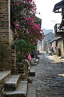 The ancient village of Yangmei is approximately 30 kilometres from the provincial capital of Nanning.  The famous Qing Dynasty street in Yangmei.