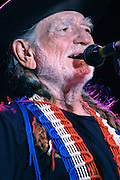 Willie Nelson performing at the Austin City Limits Music Festival, September 16, 2006.