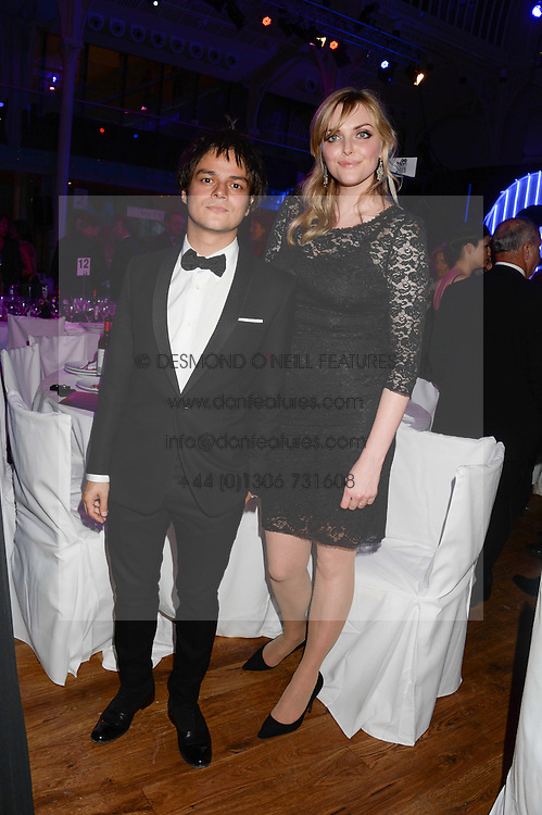 JAMIE CULLUM and SOPHIE DAHL at the GQ Men of The Year Awards 2013 in association with Hugo Boss held at the Royal Opera House, London on 3rd September 2013.