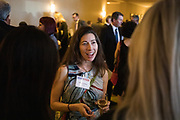 Monica Phillips of DLA Piper networks during the Bay Area Corporate Counsel Awards at The Westin San Francisco Airport in Millbrae, California, on March 18, 2019. (Stan Olszewski for Silicon Valley Business Journal)
