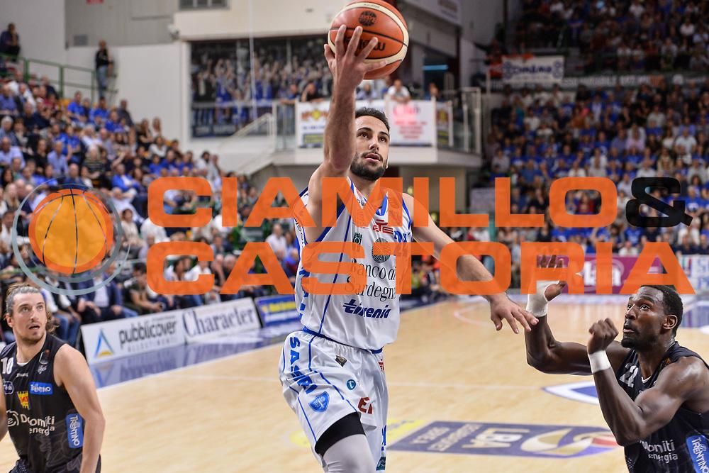 Rok Stipcevic<br /> Banco di Sardegna Dinamo Sassari - Dolomiti Energia Aquila Basket Trento<br /> Legabasket Serie A LBA Poste Mobile 2016/2017<br /> Playoff Quarti Gara3<br /> Sassari 16/05/2017<br /> Foto Ciamillo-Castoria