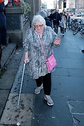 Edinburgh International Film Festival 2019<br /> <br /> Hurt By Paradise (World Premiere)<br /> <br /> Stars and guests arrive on the red carpet for the world premiere<br /> <br /> Pictured: Veronica Clifford <br /> <br /> Alex Todd | Edinburgh Elite media