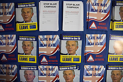 © Licensed to London News Pictures . 29/09/2017 . Torquay , UK . Leaflets at the conference venue . The UK Independence Party Conference at the Riviera International Centre . UKIP is due to announce the winner of a leadership election which has the potential to split the party . Photo credit: Joel Goodman/LNP
