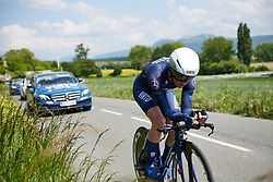 Claudia Koster (NED) at Emakumeen Bira 2018 - Stage 2, a 26.6 km time trial from Agurain to Gasteiz, Spain on May 20, 2018. Photo by Sean Robinson/Velofocus.com
