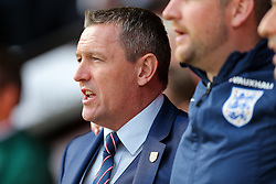 England U21 Manager Aidy Boothroyd - Rogan Thomson/JMP - 11/10/2016 - FOOTBALL - Bescot Stadium - Walsall, England - England U21 v Bosnia and Herzegovina - UEFA European Under 21 Championship Qualifying.