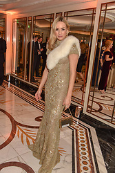 Carmen Jorda at The Cartier Racing Awards 2018 held at The Dorchester, Park Lane, England. 13 November 2018. <br /> <br /> ***For fees please contact us prior to publication***