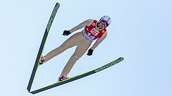 20.12.2015, Nordische Arena, Ramsau, AUT, FIS Weltcup Nordische Kombination, Skisprung, im Bild Pawel Slowiok (POL) // Pawel Slowiok of Poland during Skijumping Qualification of FIS Nordic Combined World Cup, at the Nordic Arena in Ramsau, Austria on 2015/12/20. EXPA Pictures © 2015, PhotoCredit: EXPA/ JFK