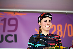 Third place for Lisa Klein (GER) at Lotto Thüringen Ladies Tour 2019 - Stage 5, a 17.9 km individual time trial in Meiningen, Germany on June 1, 2019. Photo by Sean Robinson/velofocus.com