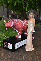 Rachel Riley at the Tusk Ball at Kensington Palace, London, England. 09 May 2019.