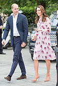 Duke and Duchess of Cambridge with Prince Harry celebrate World Mental Health day