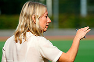 GRONINGEN - Hoofdklasse dames.<br /> Groningen v HDM<br /> Foto: Sonja Thomann Head Coach <br /> WORLDSPORTPICS COPYRIGHT FRANK UIJLENBROEK