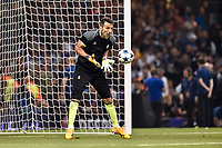Gianluigi Buffon of Juventus warms up during the UEFA Champions League Final match between Real Madrid and Juventus at the National Stadium of Wales, Cardiff, Wales on 3 June 2017. Photo by Giuseppe Maffia.<br /> <br /> Giuseppe Maffia/UK Sports Pics Ltd/Alterphotos