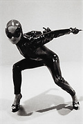 Woman in Shiny Catsuit
