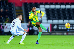 Conor Townsend of West Bromwich Albion is marked by Martin Olsson of Swansea City - Mandatory by-line: Ryan Hiscott/JMP - 28/11/2018 - FOOTBALL - Liberty Stadium - Swansea, England - Swansea City v West Bromwich Albion - Sky Bet Championship