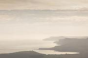 View of Kimmeridge Bay on the Jurassic Coast World Heritage Site, Dorset, UK.