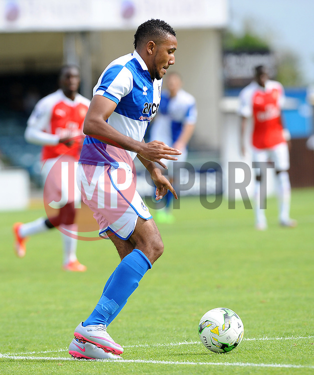 Cristian Montano of Bristol Rovers - Photo mandatory by-line: Neil Brookman/JMP - Mobile: 07966 386802 - 18/07/2015 - SPORT - Football - Bristol - Memorial Stadium - Pre-Season Friendly