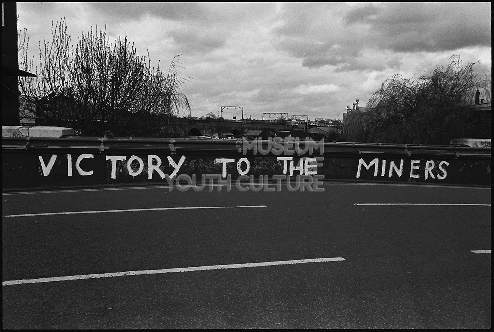 Victory To The Miners, Camden, London, 1984