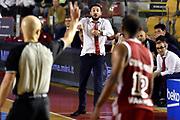 DESCRIZIONE : Roma Lega A 2014-2015 Acea Roma Openjob Metis Varese<br /> GIOCATORE : Gianmarco Pozzecco<br /> CATEGORIA : delusione<br /> SQUADRA : Openjob Metis Varese<br /> EVENTO : Campionato Lega A 2014-2015<br /> GARA : Acea Roma Openjob Metis Varese<br /> DATA : 16/11/2014<br /> SPORT : Pallacanestro<br /> AUTORE : Agenzia Ciamillo-Castoria/GiulioCiamillo<br /> GALLERIA : Lega Basket A 2014-2015<br /> FOTONOTIZIA : Roma Lega A 2014-2015 Acea Roma Openjob Metis Varese<br /> PREDEFINITA :