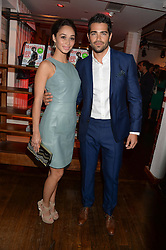 JESSE METCALFE and CARA SANTANA at the Men's Health, Oliver Spencer & Liberty Party held at Liberty, Regent Street, London on 17th June 2013.