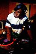 Man DJing, Bryan G. Movement, Bar Rumba. 28 August, 1997.