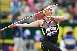 Olympic Trials Eugene 2012: women's Javelin, Dana Pounds-Lyon