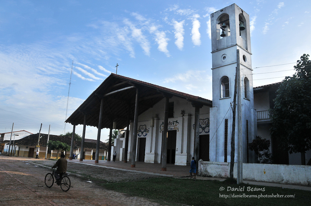 Catholic church in San Ignacio de Moxox, Beni, Bolivia