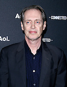 Steve Buscemi attends the 2014 AOL Newfront at the Duggal Greenhouse in the Brooklyn Navy Yard in Brooklyn, New York in April 29, 2014.