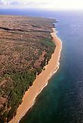 Shipwreck Beach, Molokai, Hawaii