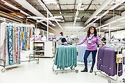 Lyon, Atelier Hermès, Sylvie quality chek for ties