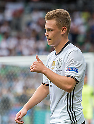 21.06.2016, Parc de Princes, Paris, FRA, UEFA Euro 2016, Nordirland vs Deutschland, Gruppe C, im Bild Joshua Kimmich (GER) // X during Group C match between Nothern Ireland and Germany of the UEFA EURO 2016 France at the Parc de Princes in Paris, France on 2016/06/21. EXPA Pictures © 2016, PhotoCredit: EXPA/ JFK
