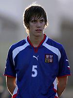 Fotball<br /> La Manga - Spania<br /> 11.02.2005<br /> G19 Norge v Tsjekkia<br /> Foto: Morten Olsen, Digitalsport<br /> <br /> Svec Michal - Slavia Praha