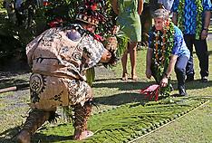 Rarotonga-Prime Minister Bill English in Avarua
