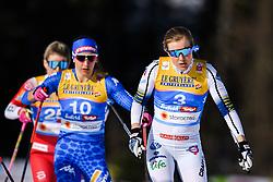 February 21, 2019 - Seefeld In Tirol, AUSTRIA - 190221 Hanna Falk of Sweden competes in womenÃ•s cross-country skiing sprint quarter final during the FIS Nordic World Ski Championships on February 21, 2019 in Seefeld in Tirol..Photo: Vegard Wivestad GrÂ¿tt / BILDBYRN / kod VG / 170285 (Credit Image: © Vegard Wivestad Gr¯Tt/Bildbyran via ZUMA Press)