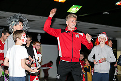 Taylor Moore of Bristol City visits the Bristol Sport Spooktacular Halloween Event at Ashton Gate - Rogan Thomson/JMP - 26/10/2016 - SPORT - Ashton Gate Stadium - Bristol, England.