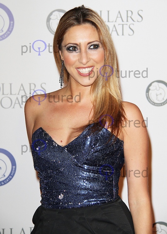 Kate Walsh Battersea Dogs & Cats Home Collars & Coats Gala Ball, Battersea Evolution, London, UK. 11 November 2011. Contact rich@pictured.com +44 07941 079620 (Picture by Richard Goldschmidt)