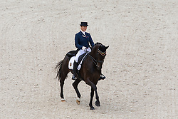 Claudia Fassaert, (BEL), Donnerfee - Grand Prix Team Competition Dressage - Alltech FEI World Equestrian Games™ 2014 - Normandy, France.<br /> © Hippo Foto Team - Leanjo de Koster<br /> 25/06/14