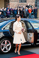 04.10.2016. Copenhagen, Denmark.  <br /> Princess Marie's arrival to Christiansborg Palace for attended the opening session of the Danish Parliament (Folketinget).<br /> Photo: &copy; Ricardo Ramirez
