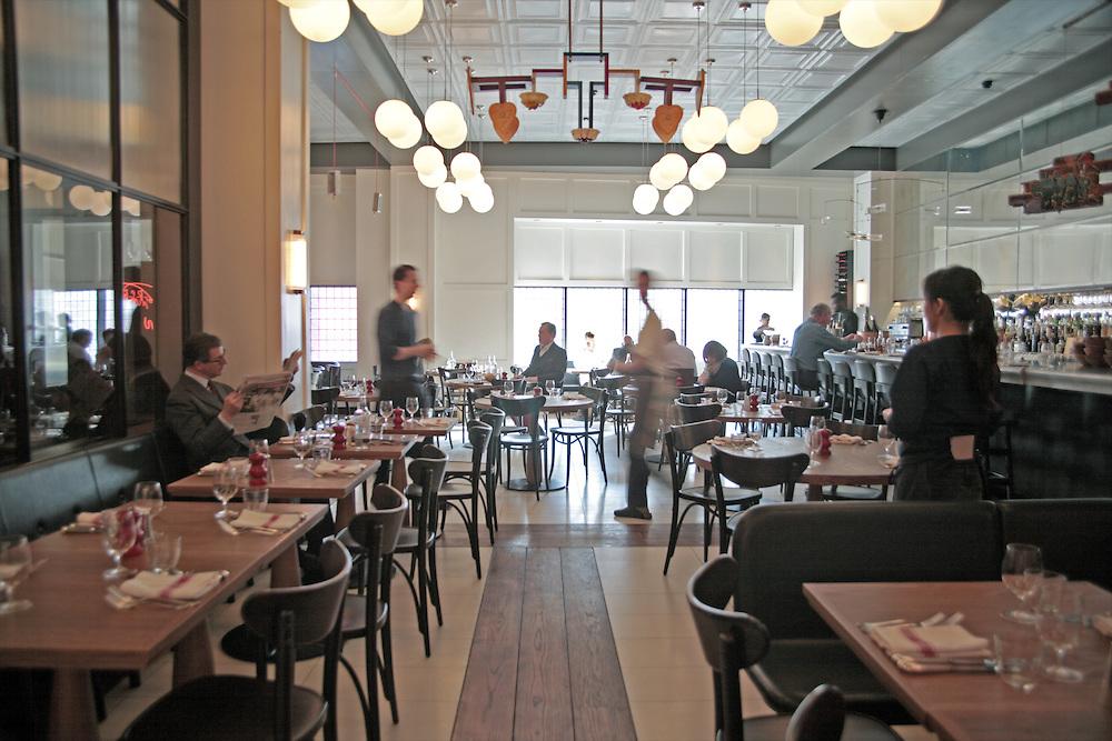 Interior, HIX Restaurant, 66-70 Brewer St, Soho, London, United Kingdom<br /> CREDIT: Vanessa Berberian for The Wall Street Journal<br /> HIX