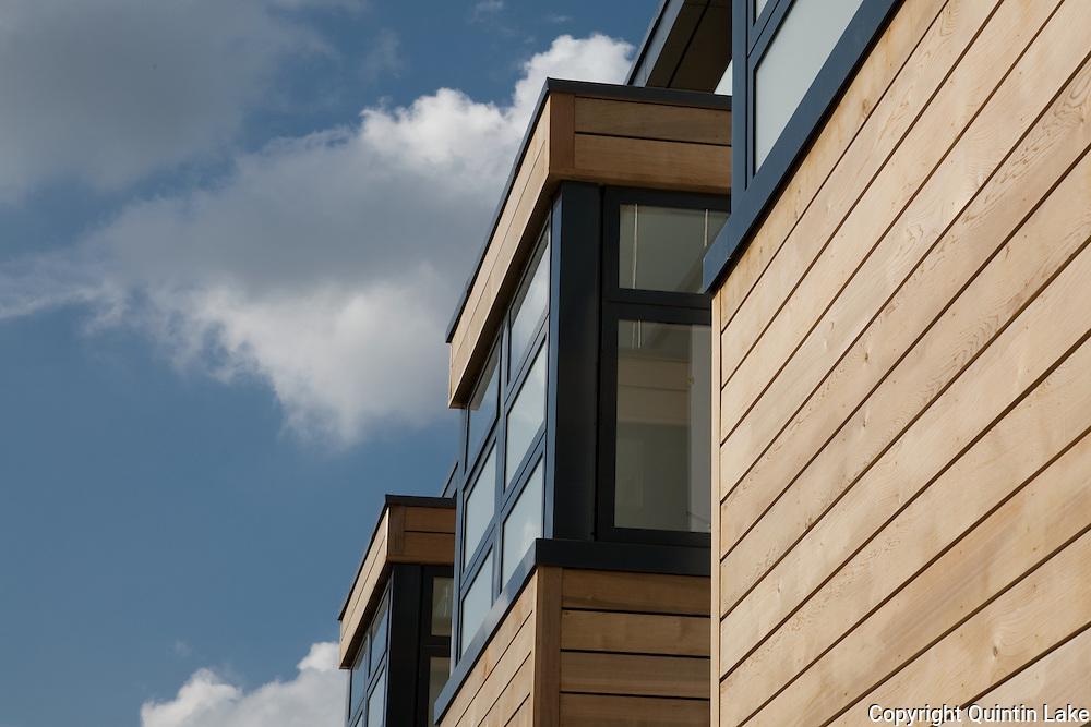 Detail of window bays