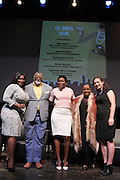 New York, NY-May 13: (L-R) TV Personality Bevy Smith, Chef Alexander Smalls, Restaurant Entreprenuer Trenesse Woods-Black, Restuarant Entreprenuer Melba Wilson, Restaurant Entreprenuer Amelia Lester attends ' Harlem on my Plate' and the Toasting of the Schomburg Center for its National Medal for Museums & Library Service Award powered by Citi on May 13, 2015 in New York City. Terrence Jennings/terrencejennings.com)