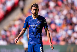 August 5, 2018 - Jorginho of Chelsea during the 2018 FA Community Shield match between Chelsea and Manchester City at Wembley Stadium, London, England on 5 August 2018. (Credit Image: © AFP7 via ZUMA Wire)
