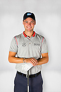 Martin Kaymer at Augusta for Mercedes-Benz<br /> Picture Credit:  Mark Newcombe / Mercedes-Benz