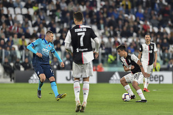 May 19, 2019 - Turin, Turin, Italy - Paulo Dybala of Juventus FC and Josip Ilicic,  of Atalanta BC during the Serie A match at Allianz Stadium, Turin (Credit Image: © Antonio Polia/Pacific Press via ZUMA Wire)