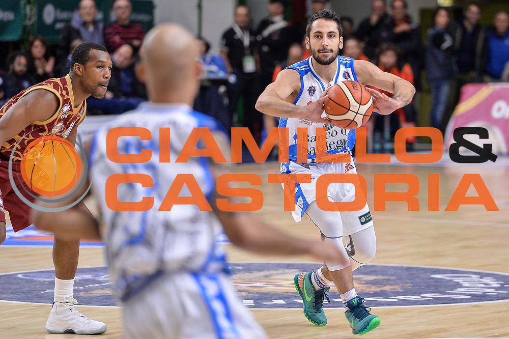 DESCRIZIONE : Campionato 2015/16 Serie A Beko Dinamo Banco di Sardegna Sassari - Umana Reyer Venezia<br /> GIOCATORE : Rok Stipcevic<br /> CATEGORIA : Passaggio<br /> SQUADRA : Dinamo Banco di Sardegna Sassari<br /> EVENTO : LegaBasket Serie A Beko 2015/2016<br /> GARA : Dinamo Banco di Sardegna Sassari - Umana Reyer Venezia<br /> DATA : 01/11/2015<br /> SPORT : Pallacanestro <br /> AUTORE : Agenzia Ciamillo-Castoria/L.Canu