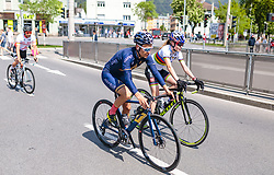 25.04.2018, Innsbruck, AUT, ÖRV Trainingslager, UCI Straßenrad WM 2018, im Bild Stefan Denifl (AUT), Laura Stigger (AUT) // during a Testdrive for the UCI Road World Championships in Innsbruck, Austria on 2018/04/25. EXPA Pictures © 2018, PhotoCredit: EXPA/ JFK