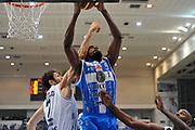DESCRIZIONE : Campionato 2014/15 Dolomiti Energia Aquila Trento - Dinamo Banco di Sardegna Sassari<br /> GIOCATORE : Shane Lawal<br /> CATEGORIA : Rimbalzo<br /> SQUADRA : Dinamo Banco di Sardegna Sassari<br /> EVENTO : LegaBasket Serie A Beko 2014/2015<br /> GARA : Dolomiti Energia Aquila Trento - Dinamo Banco di Sardegna Sassari<br /> DATA : 15/12/2014<br /> SPORT : Pallacanestro <br /> AUTORE : Agenzia Ciamillo-Castoria / Luigi Canu<br /> Galleria : LegaBasket Serie A Beko 2014/2015<br /> Fotonotizia : Campionato 2014/15 Dolomiti Energia Aquila Trento - Dinamo Banco di Sardegna Sassari<br /> Predefinita :