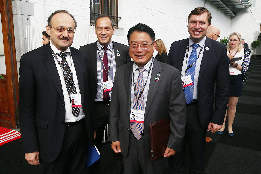 20160615 - Brussels , Belgium - 2016 June 15th - European Development Days - Bilateral Meeting <br /> Klaus Rudischhauser<br /> Deputy Director General European Commission - DG for International Cooperation and Development and LI Yong<br /> , Director General United Nations Industrial Development Organization<br /> © European Union