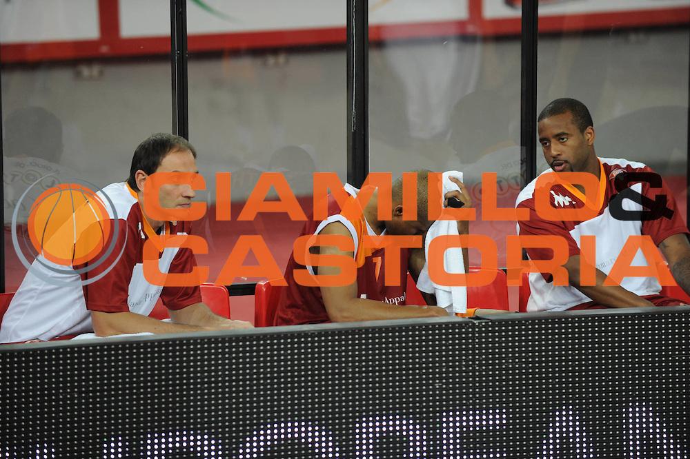 DESCRIZIONE : Roma Eurolega 2010-11 Lottomatica Virtus Roma Real Madrid<br /> GIOCATORE : Charles Smith<br /> SQUADRA : Euroleague<br /> EVENTO : Eurolega 2010-2011<br /> GARA :  Lottamtica Virtus Roma Real Madrid<br /> DATA : 04/11/2010<br /> CATEGORIA :Delusione<br /> SPORT : Pallacanestro <br /> AUTORE : Agenzia Ciamillo-Castoria/GiulioCiamillo<br /> Galleria : Eurolega 2010-2011<br /> Fotonotizia : Roma Eurolega Euroleague 2010-11 Lottomatica Virtus Roma Real Madrid<br /> Predefinita :