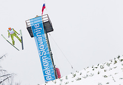 Jurij Tepes of Slovenia during the Flying Hill Individual Event at 4th day of FIS Ski Jumping World Cup Finals Planica 2013, on March 24, 2013, in Planica, Slovenia. (Photo by Vid Ponikvar / Sportida.com)