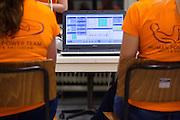 Nederland, Amsterdam, 11-11-2015<br /> Oud-schaatser Jan Bos doet testen bij de VU in Amsterdam als potentiele renner voor de VeloX VI. Na twee mislukte recordpogingen in 2012 en 2013 wil Bos opnieuw proberen het snelheidsrecord op zijn naam te zetten. In september wil het Human Power Team Delft en Amsterdam, dat bestaat uit studenten van de TU Delft en de VU Amsterdam, tijdens de World Human Powered Speed Challenge in Nevada een poging doen het wereldrecord snelfietsen te verbreken. Het record is met 139,45 km/h sinds 2015 in handen van de Canadees Todd Reichert.<br /> <br /> Former skater Jan Bos is tested at the VU Amsterdam as one of the potential riders for the VeloX VI. With the special recumbent bike the Human Power Team Delft and Amsterdam, consisting of students of the TU Delft and the VU Amsterdam, also wants to set a new world record cycling in September at the World Human Powered Speed Challenge in Nevada. The current speed record is 139,45 km/h, set in 2015 by Todd Reichert.<br /> Foto: Bas de Meijer / Hollandse Hoogte